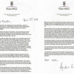 Amber Rudd Resignation Letter to Theresa May